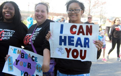 400 Females & Friends March promotes awareness and empowerment