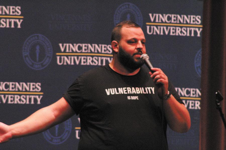 Daniel Franzese visits VU