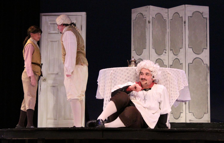 Tartuffe begins devising a plot