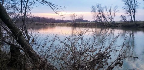 A view of the Wabash River as seen on a recent hike with the VU Hiking Club.