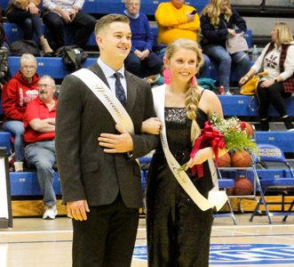 Homecoming King & Queen crowned