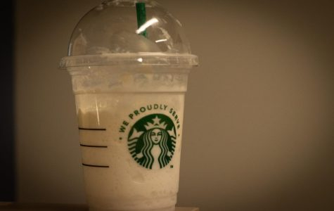 Coffee drinks like the one pictured are very popular among college students.