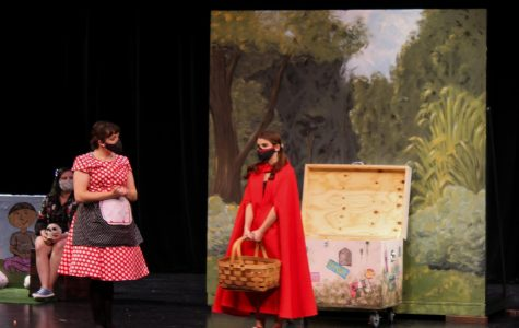 A scene from the recent production of